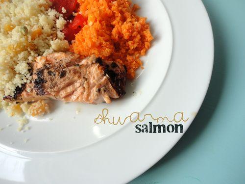 Shwarma salmon