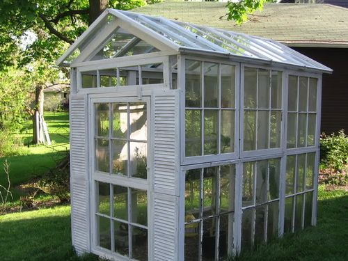 Recycled-old-windows-greenhouse